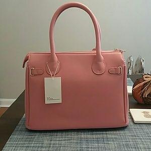 dceeb63f55bc Rebecca Bonbon Bags - RB Vegan Faux Paris Classic Tote Bag-Pink
